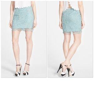 J.O.A. Lace Miniskirt